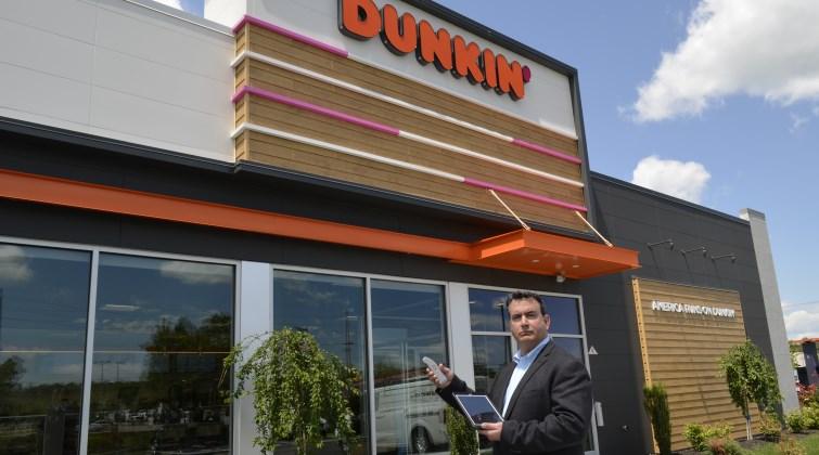 Rick at Dunkin